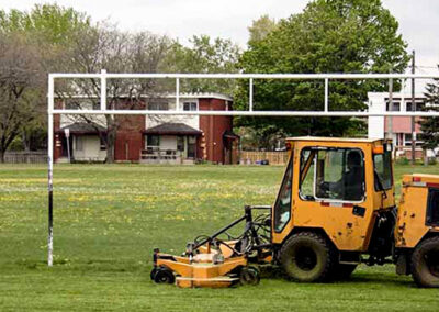 Alberta Parking Lot Services - Additional Services - Commercial Mowing - Red Deer, Alberta