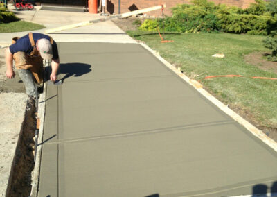 Alberta Parking Lot Services - Additional Services - Concrete Work - Red Deer, Alberta