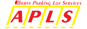 Alberta Parking Lot Services - Logo - Red Deer, Alberta