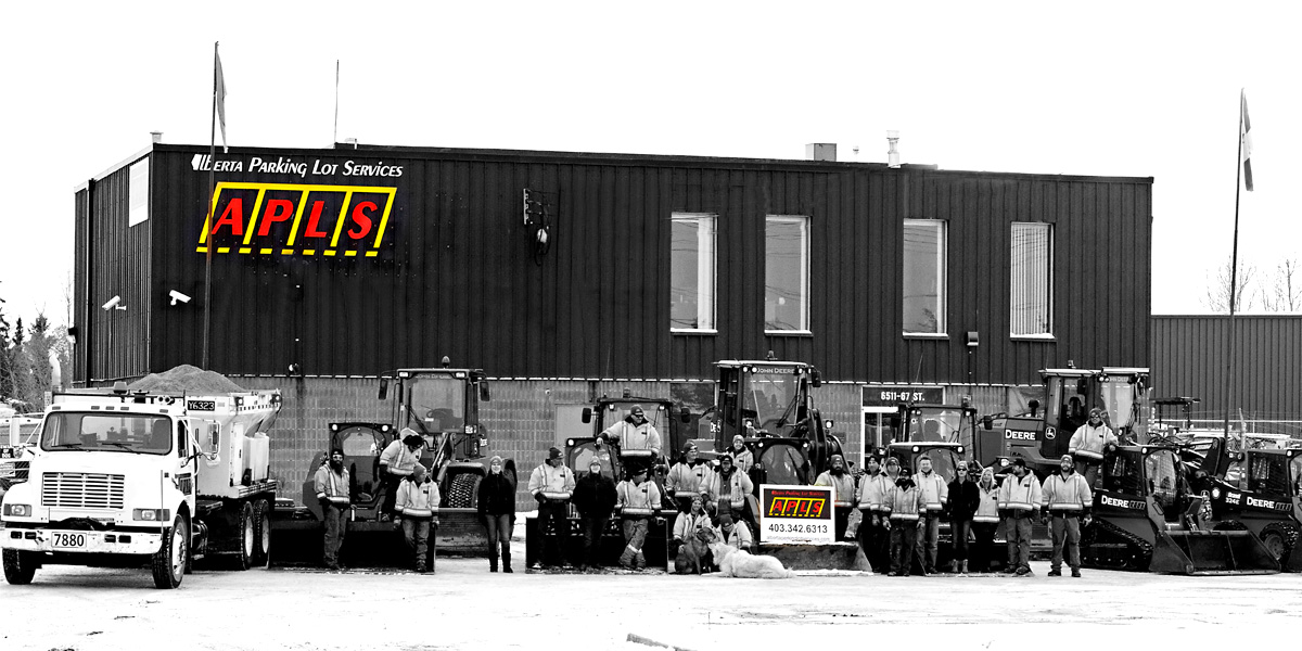 Alberta Parking Lot Services - Placeholder - Red Deer, Alberta