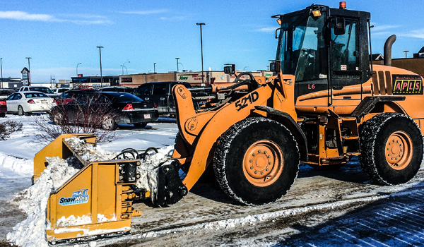 Alberta Parking Lot Services - Snow Removal Services - Red Deer, Alberta