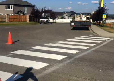 Alberta Parking Lot Services - Line Painting Services - Red Deer, Alberta
