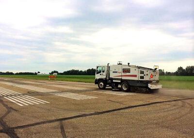 Alberta Parking Lot Services - Street Sweeping Services - Red Deer, Alberta